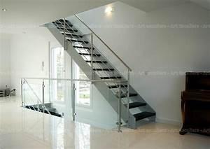 Escalier Métallique Industriel : industro escalier industriel au design contemporain art escaliers ~ Melissatoandfro.com Idées de Décoration
