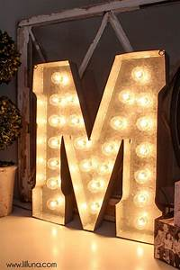 17 best images about marquee lighting on pinterest With huge light up letters
