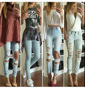 Jeans: ripped jeans, skinny jeans, high waisted jeans ...