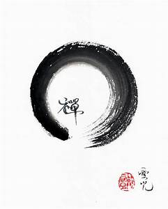 Enso Zen Painting By Oiyee At Oystudio
