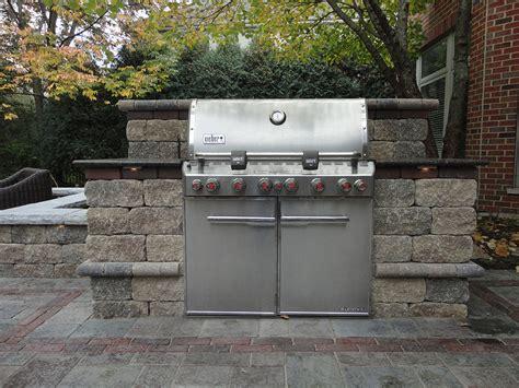 image of fireplace surround ideas grill enclosures pavestone brick pavingpavestone brick