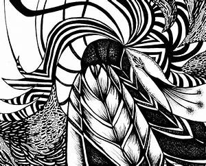 Abstract Art Designs Black And White | Wallpapers Background
