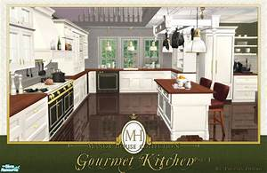 Phoenix phaerie39s manor house collection gourmet kitchen pt i for Sims 3 interior design kitchen