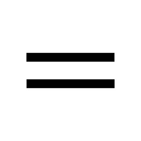 not equal sign iphone equal sign icon free png and svg