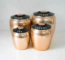 copper kitchen canister sets reserved do not buy vintage canister set copper