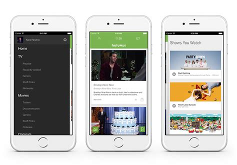 Hulu Plus App Updated With New Design, In-app