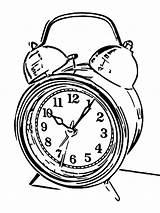 Alarm Coloring Printable Cartoonized Clocks Olphreunion sketch template