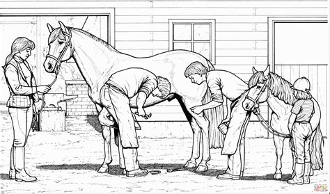 Horse And Rider Coloring Pages Sevimlimutfak