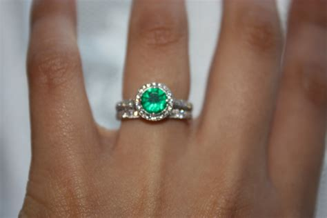 Colored Gemstone Engagement Rings  Jewelry