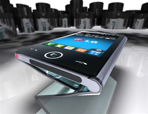 into phone lg triptych folding phone turns into a tablet concept phones