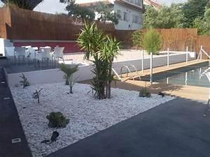 Galets Blancs Pour Jardin Pas Cher : d co jardin galet paillis rocaille pas japonais ~ Dode.kayakingforconservation.com Idées de Décoration