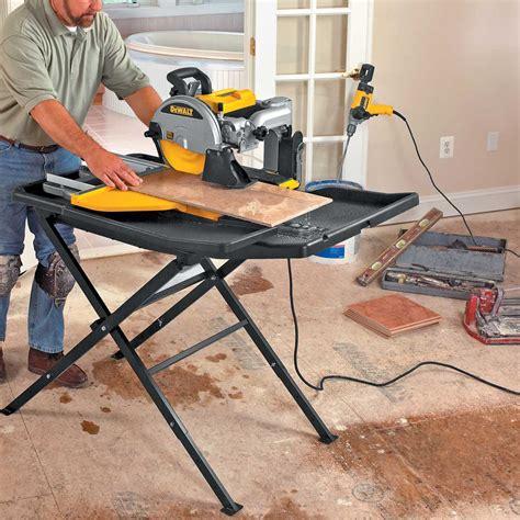 d24000s dewalt wet tile saw stand contractors direct