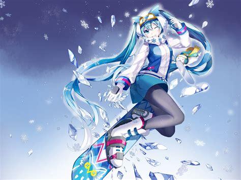 Anime 2016 Wallpaper - snow miku 2016 wallpapers vocaloid