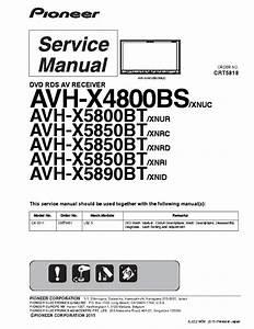 Pioneer Avh X4800bs Wiring Diagram