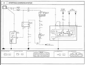 Kia K2700 Alternator Wiring Diagram