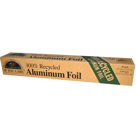 If You Care, 100% Recycled Aluminum Foil, 50 Sq Ft (5226