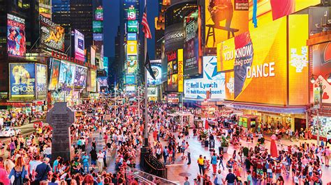 times square offers optimal exposure brands pricey
