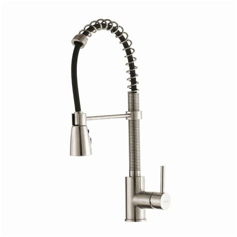 commercial faucets kitchen kraus commercial style single handle pull kitchen