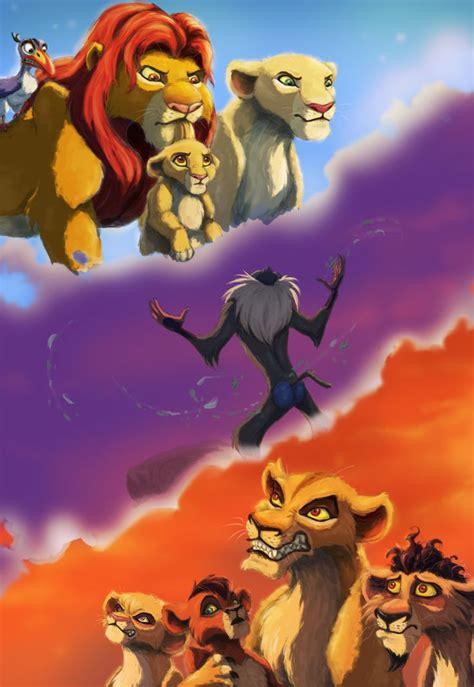 pin   lions family nala simba kiara kion