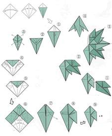 Christmas Tree Origami Instructions