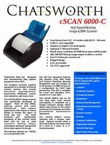 Chatsworth Data Cscan6000c Scanner User Manual Cscan6000 C