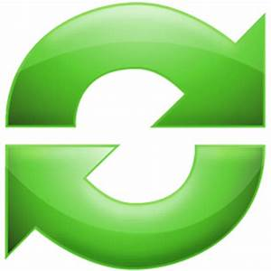 orange refresh icon – Free Icons Download