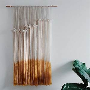 Best ideas about yarn wall hanging on