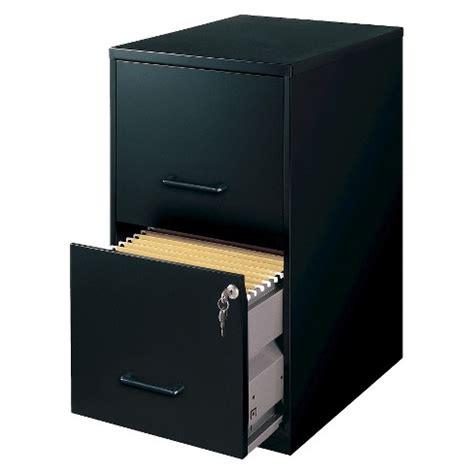 Black File Cabinet 2 Drawer by Hirsh Black Vertical 2 Drawer Filing Cabinet Metal Target