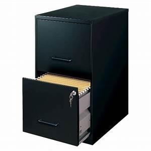 hirsh black vertical 2 drawer filing cabinet metal target With personal document storage