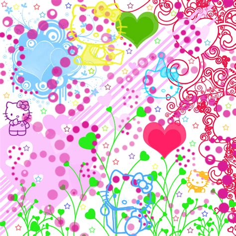 Hello Kitty By Monoqueen Android Wallpaper