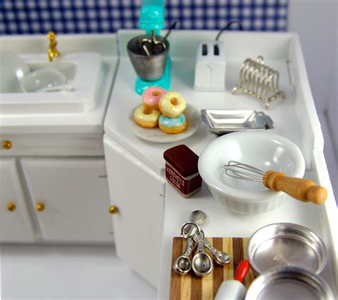 dollhouse kitchen accessories the mouse market 3420
