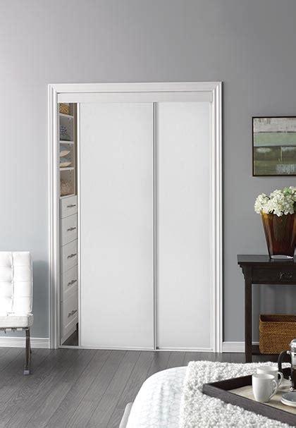 Thin Closet Doors by Sliding Bypass Door With White Panel Insert Narrow Stile