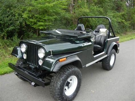 dark green jeep cj find used beautiful rustfree 1976 jeep cj7 in roland
