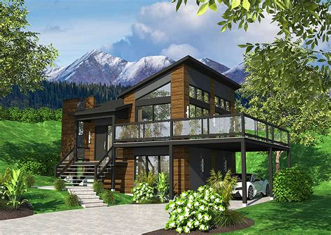exciting contemporary house plan pd architectural