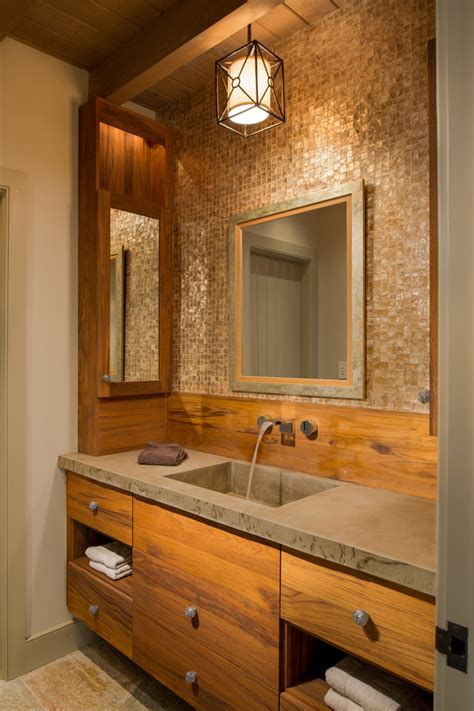 Small Rustic Bathroom Designs by Rustic Small Bathroom Ideas