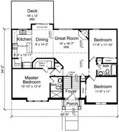 split level house plans bi level home plan 39197st 1st floor master suite butler walk in pantry cad available