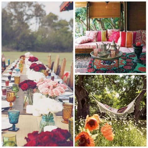 How To Create Your Own Bohemian Garden Dinner  Viva La Vida
