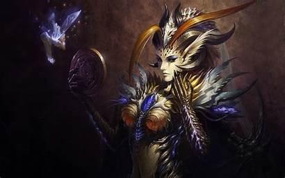 Demon Angels Desktop Backgrounds League Fantasy Horns