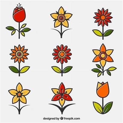 Ornamental Flowers Pack Freepik