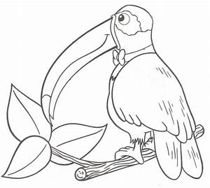 Dibujos para colorear de paisajes con animales Imagui
