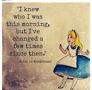 alice in wonderland quotes Oh I know this feeling ...