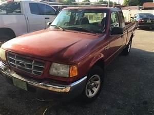 Burgundy Ford Ranger 2001 Xlt 2 3l 4 Cylinder Supercab 5 Speed Florida Title