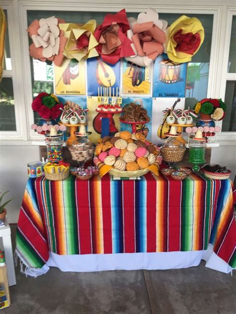 fiesta mexican birthday party ideas   mexican
