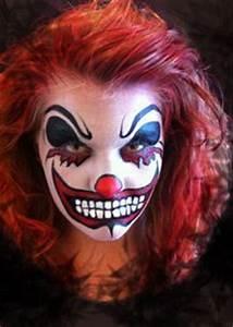 Best 25 Scary clown face ideas on Pinterest