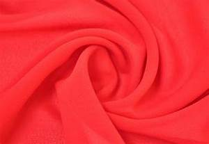 Polyester 75D solid chiffon fabric