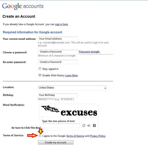 Create A Google Account Without Gmail, Then Review Wilson