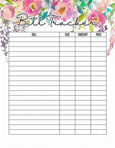 weekly bill organizer the best 2019 free printable planner to organize your life