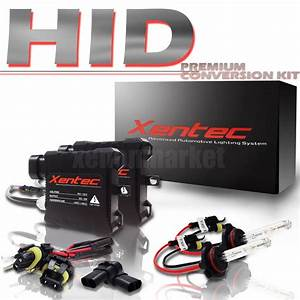 9006 Headlight For Candle Slim Xenon Hid Kit With 6000k