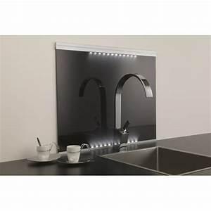 Fond De Hotte Verre : fond de hotte verre noir tous les produits cr dences ~ Dailycaller-alerts.com Idées de Décoration