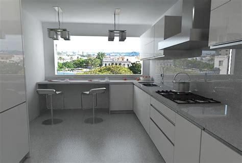 foto cocina integral alto brillo de unik muebles